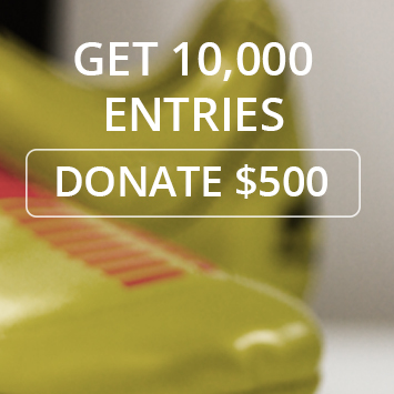 $500 DONATION - 10,000 ENTRIES TO WIN DC100 - iSPORT FOUNDATION